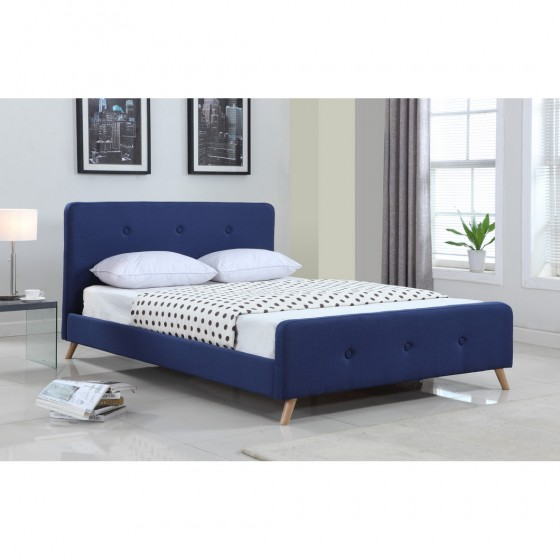 blue queen bed for sale